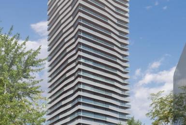 Gooderham Condos Building View Toronto, Canada