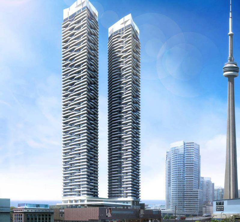 Harbour Plaza Residences Building View Toronto, Canada