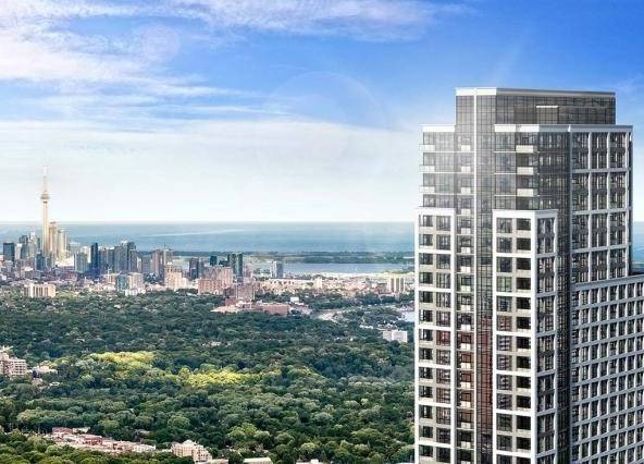 Islington Terrace Condos Building View Toronto, Canada