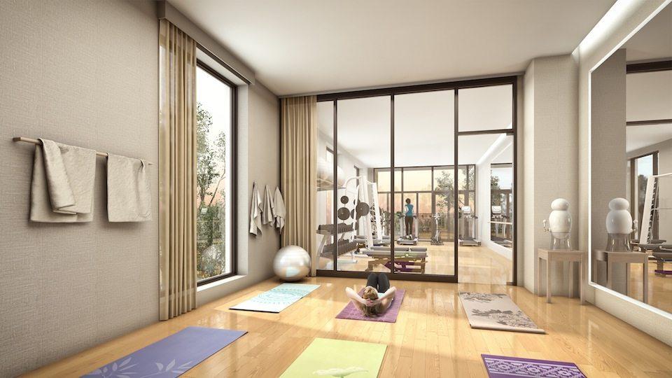 Kingston&Co Condos Yoga Center Toronto, Canada