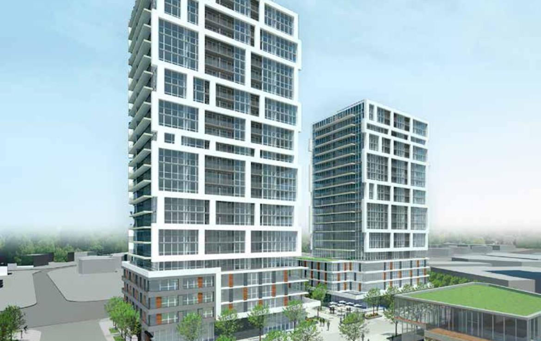 Kip District Condos Building View Toronto, Canada