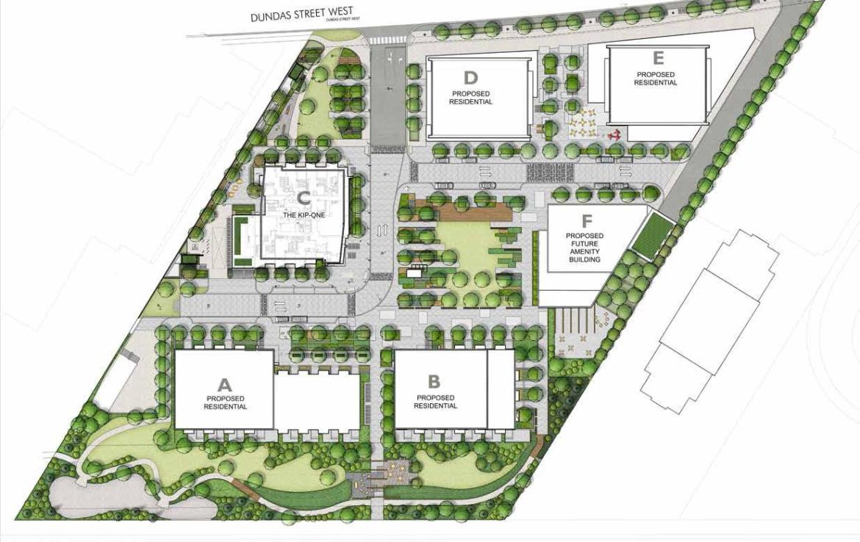 Kip District Condos Plan View Toronto, Canada