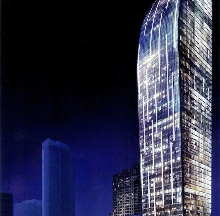 L-Tower Condos Building View Toronto, Canada