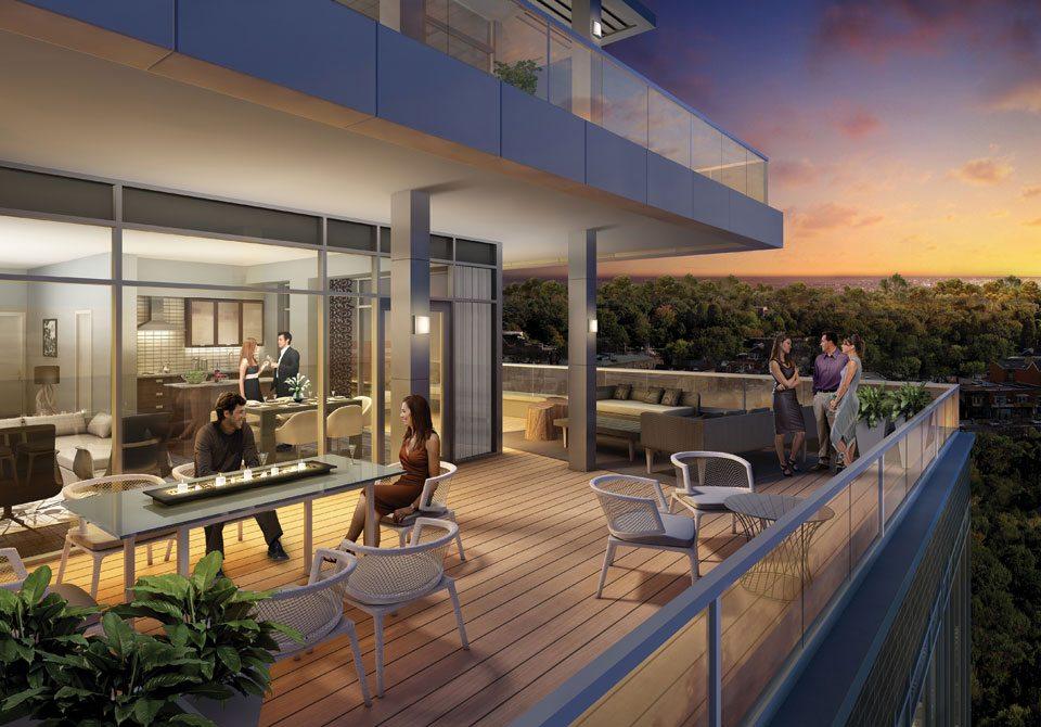 Lakehouse Beach Residences Terrace Lounge Toronto, Canada