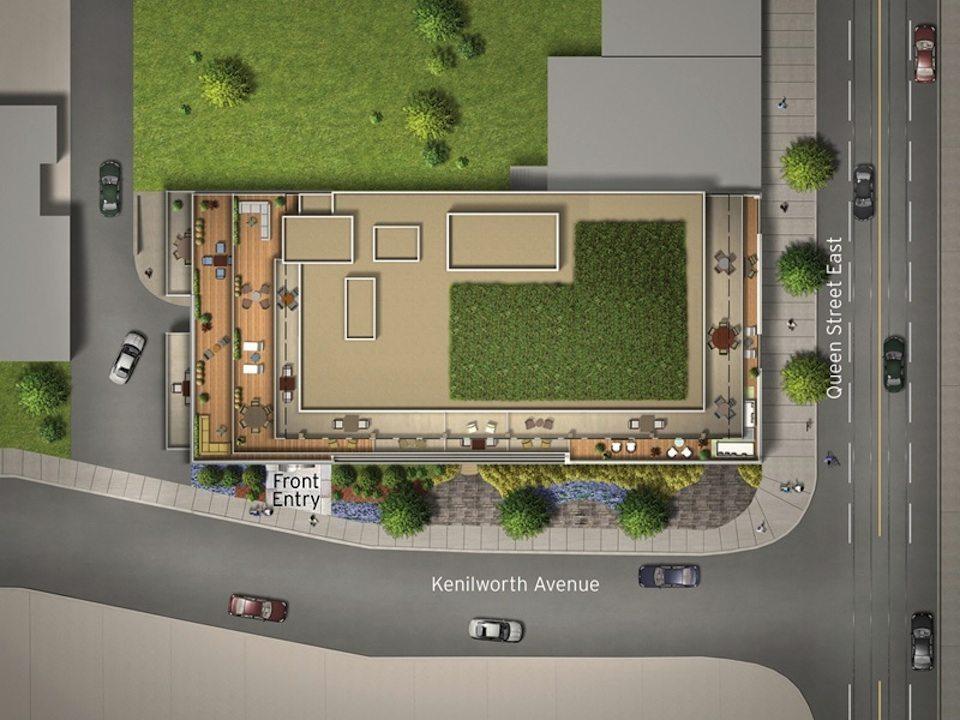Lakehouse Beach Residences Property Plan Toronto, Canada