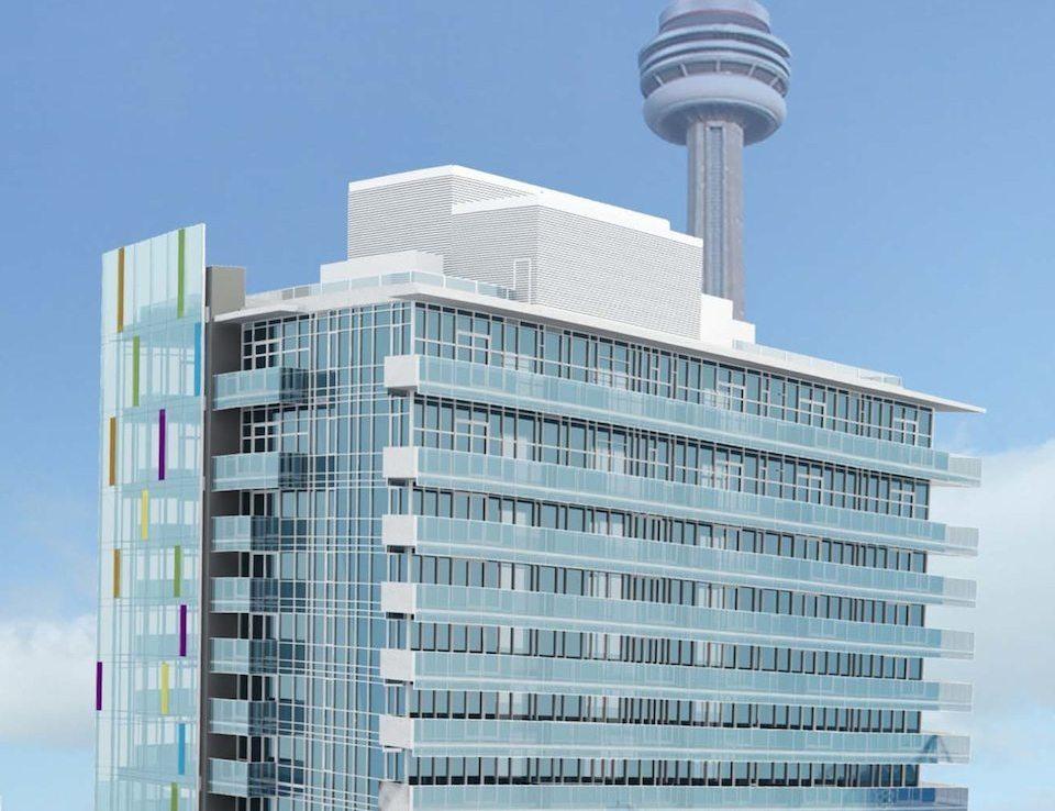 M5V Condominiums Close View Toronto, Canada