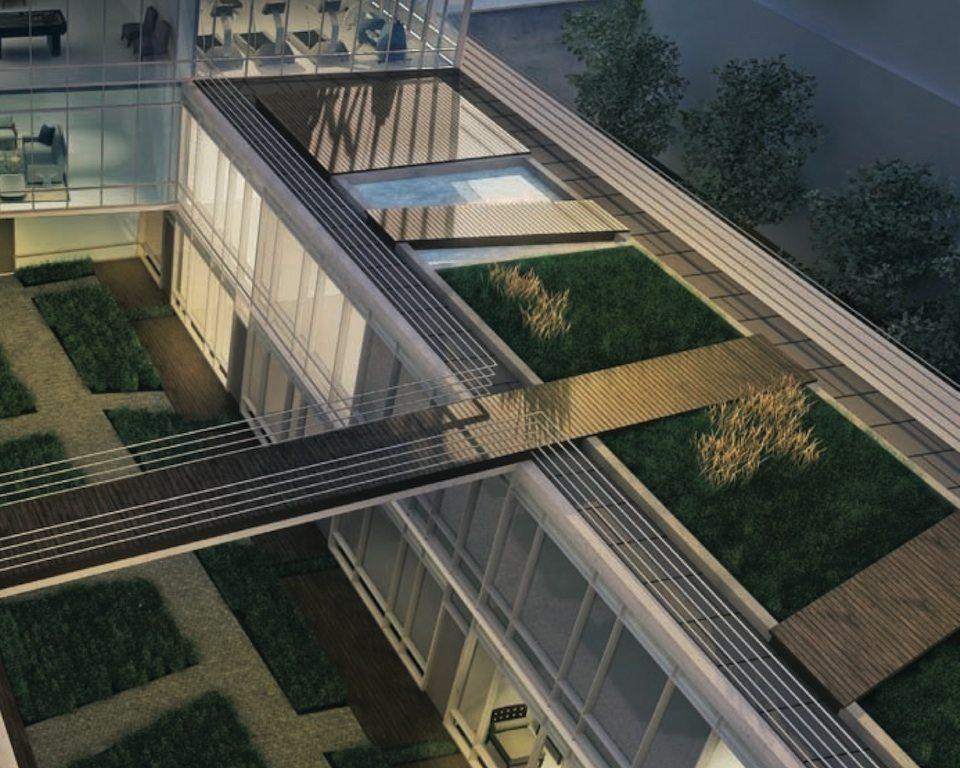 MYC Merton Yonge Condominiums Aerial Toronto, Canada
