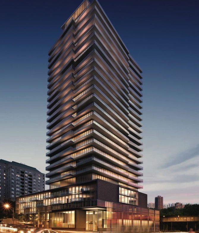 MYC Merton Yonge Condominiums Street View Toronto, Canada