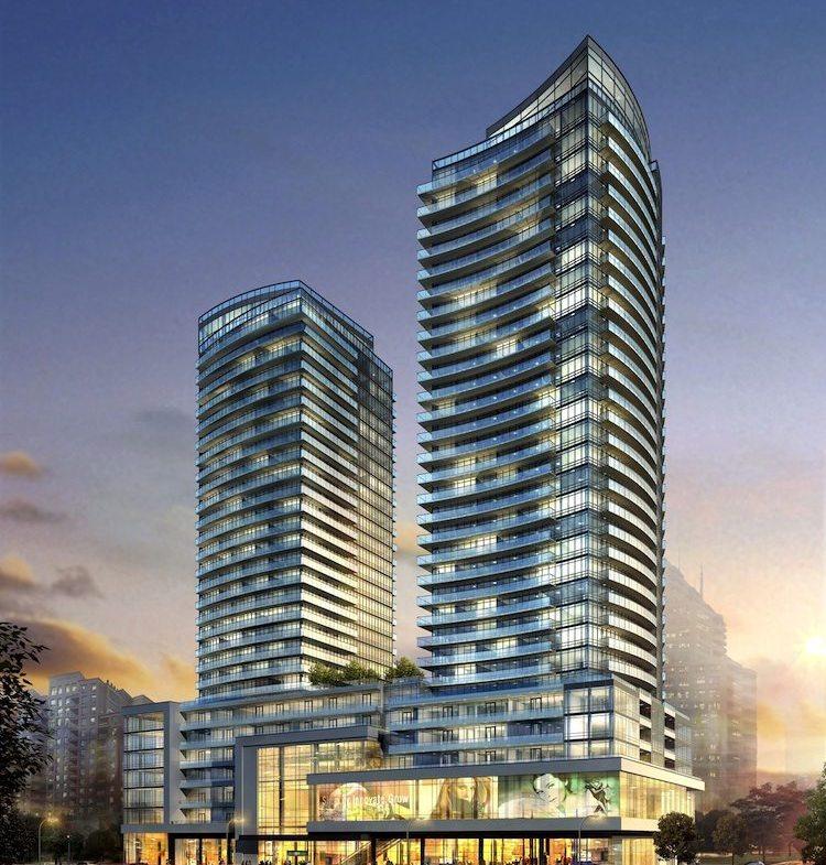 Madison Condos Building View Toronto, Canada