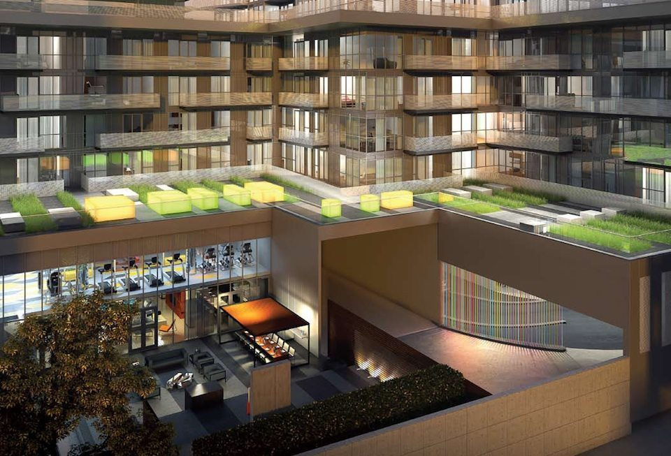 Minto 30Roe Condos Terrace Garden Toronto, Canada