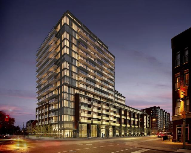 Minto775 King West Condos Building View Toronto, Canada