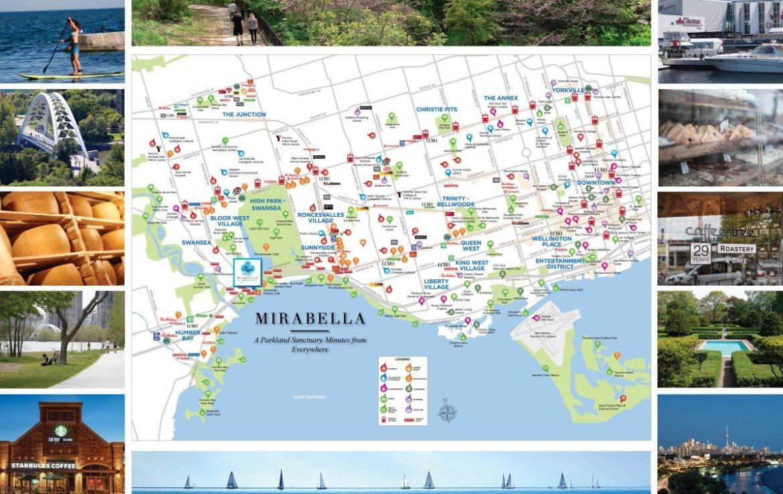 Mirabella Condos Map View Toronto, Canada