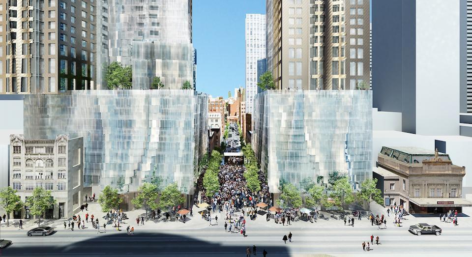 Mirvish+Gehry Toronto Condos Front View Toronto, Canada