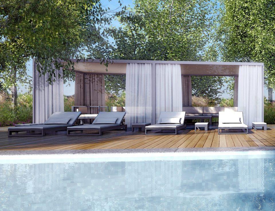 Monde Condos Swimming Pool Toronto, Canada