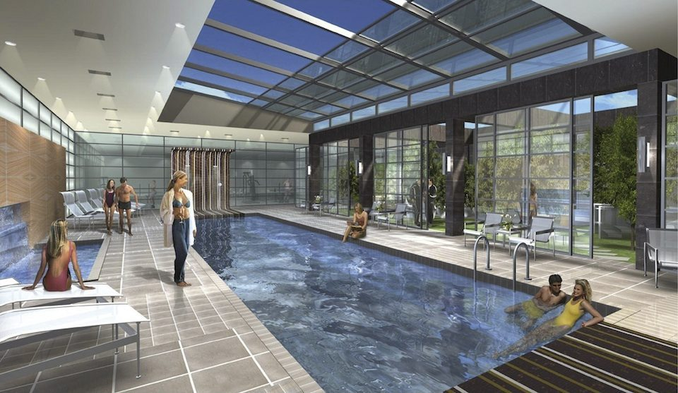Murano Condos Swimming Pool Toronto, Canada
