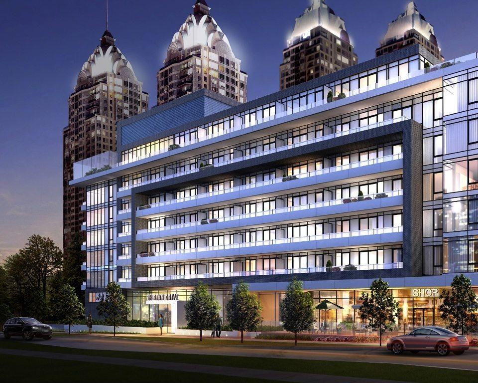 NY2 Condominiums Condos Front View Toronto, Canada