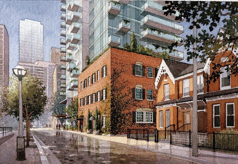 Nicholas Residences Condos Street View Toronto, Canada