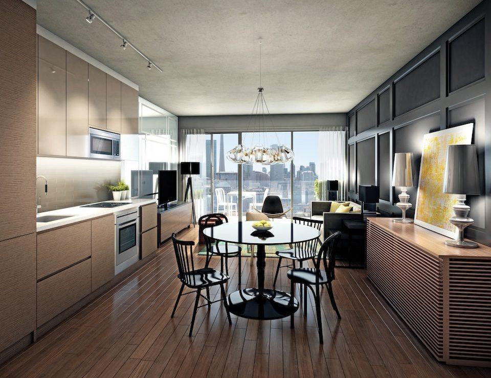No. 210 Residences on Simcoe Kitchen Toronto, Canada