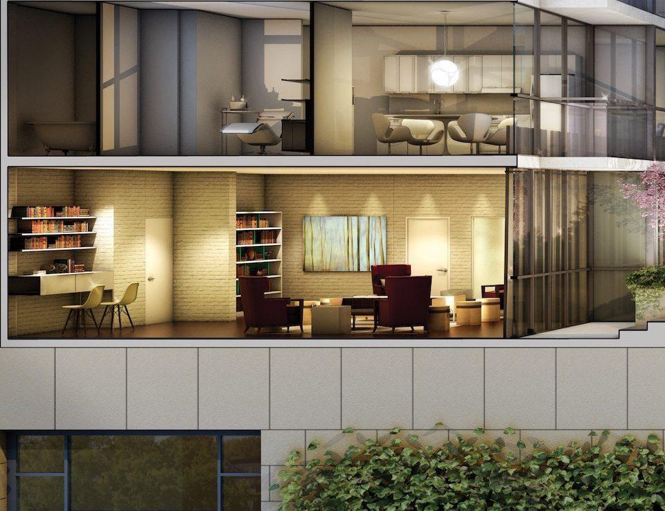 No. 210 Residences on Simcoe Balcony Toronto, Canada
