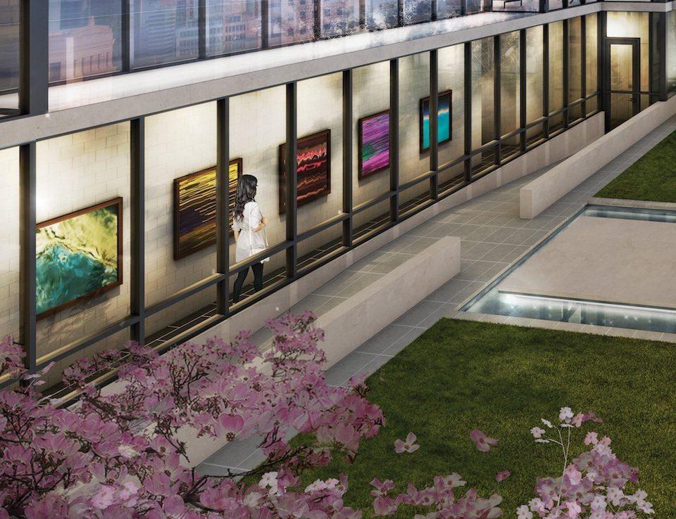 No. 210 Residences on Simcoe Garden View Toronto, Canada
