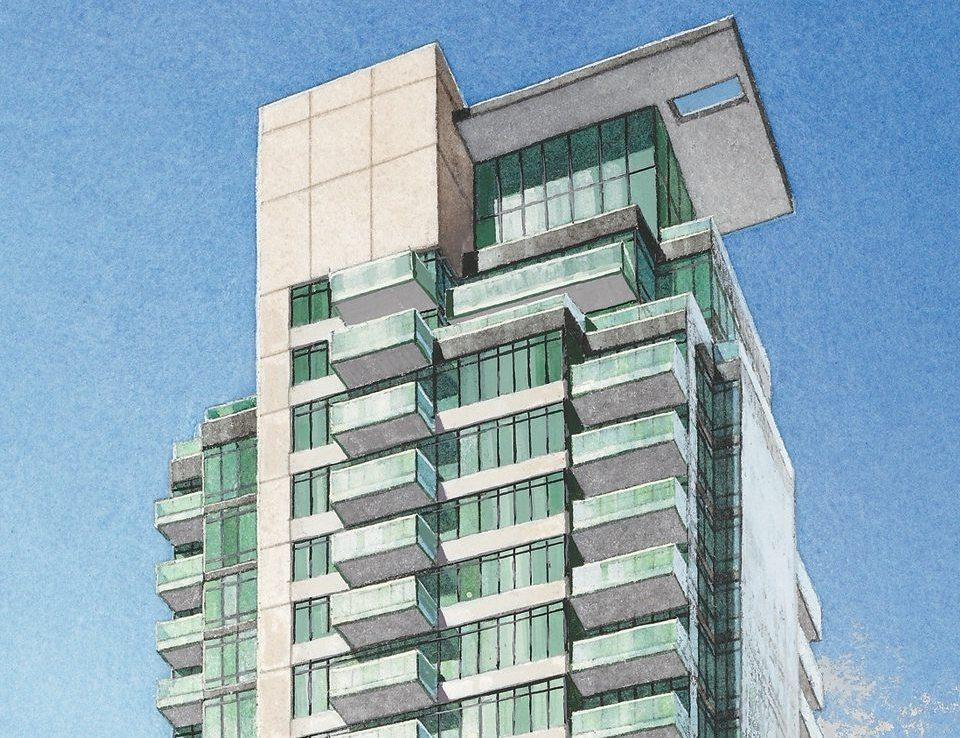 One Bedford Condos Sketch View 2 Toronto, Canada