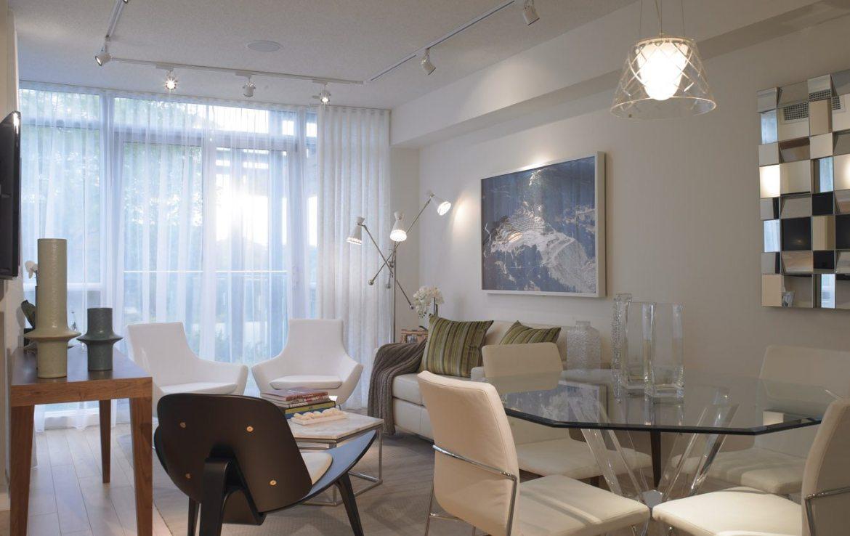 One Valhalla Towns & Condos + Triumph Phase Three Living Area Toronto, Canada