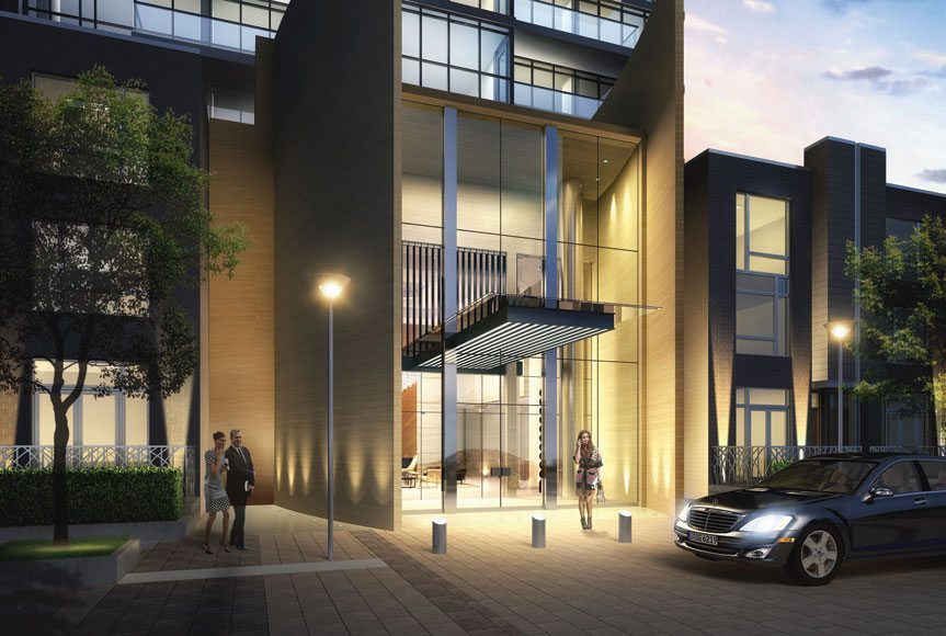 One Valhalla Towns & Condos + Triumph Phase Three Entrance Toronto, Canada