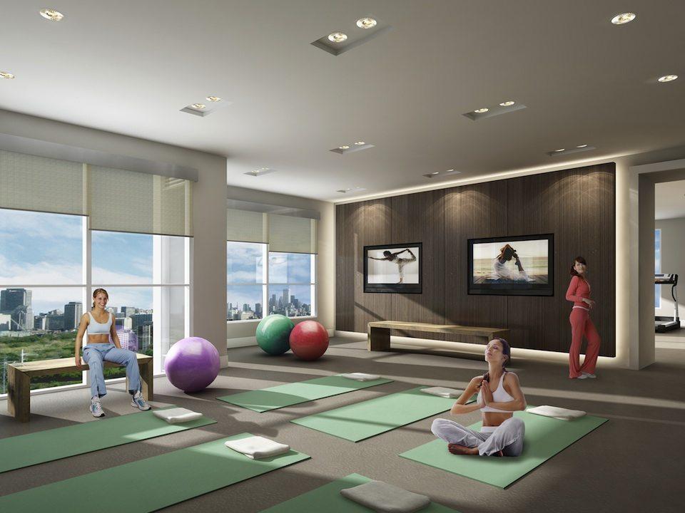 Rise Condos Yoga Center Toronto, Canada
