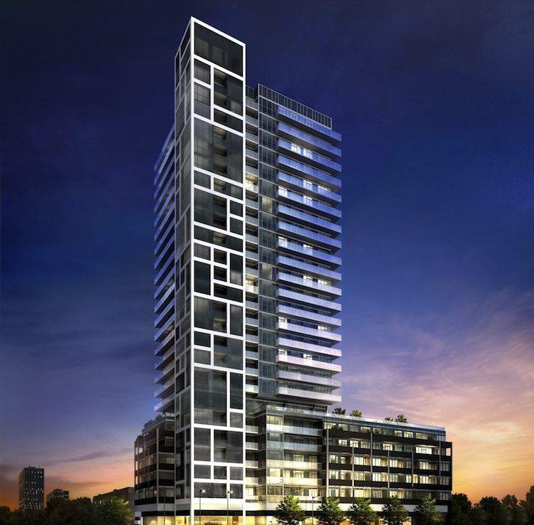 Rise Condos Building View Toronto, Canada