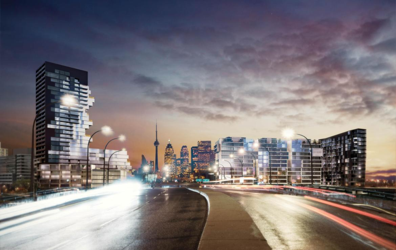 River City Condos Phases 3 Street View Toronto, Canada