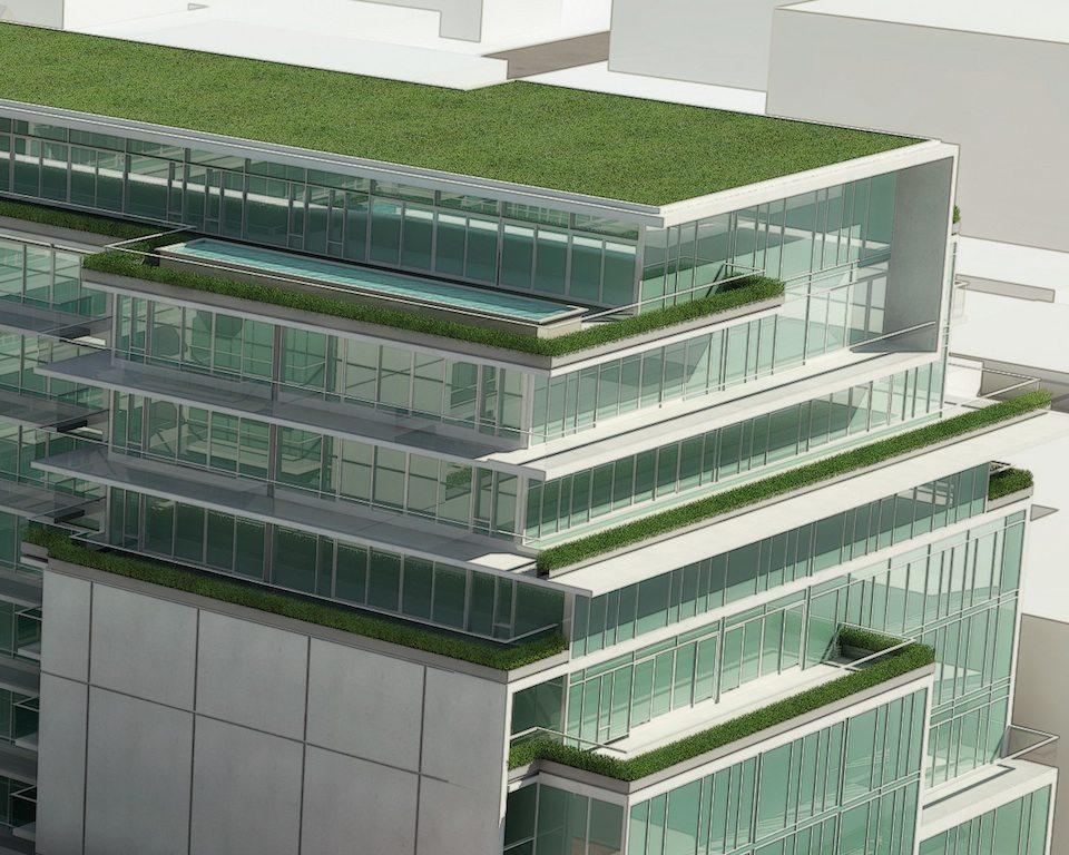 SIX50 King West Condos Terrace Garden Toronto, Canada