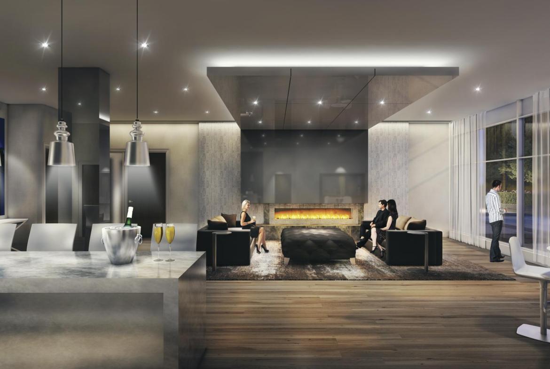 Senses Condominiums Wine Lounge Toronto, Canada