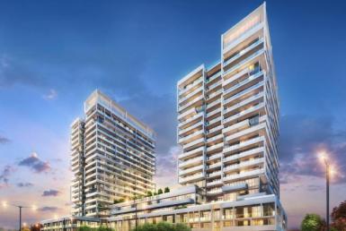 Senses Condominiums Building View Toronto, Canada