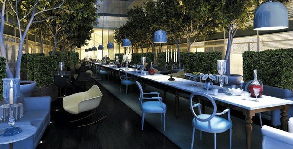 Seventy5 Portland Condos Outdoor Dinning Toronto, Canada