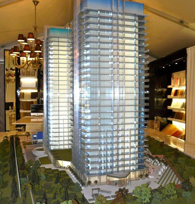 South Beach Condos & Lofts Model View Toronto, Canada