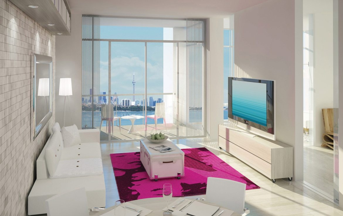 South Beach Condos & Lofts Interior Toronto, Canada