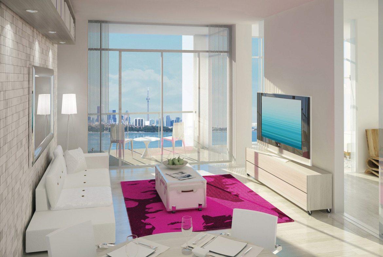 South Beach Condos & Lofts Interior Toronto, Canada