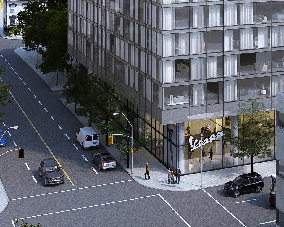 Stanley Condos Street View Toronto, Canada