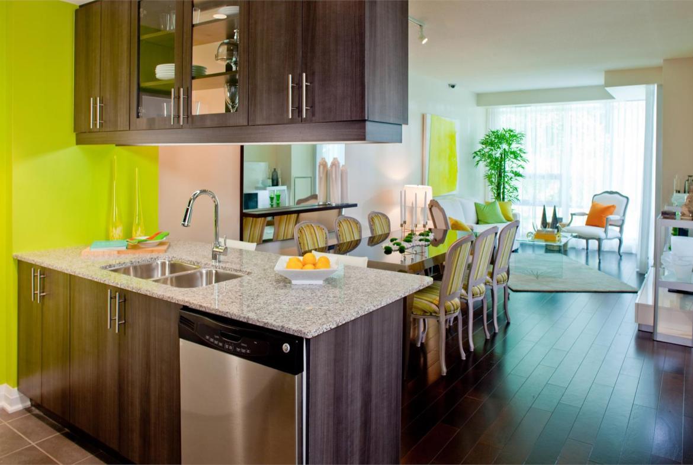Stonebrook Condominiums Kitchen View Toronto, Canada