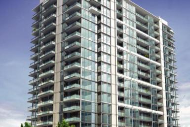 Stonebrook Condominiums Front View Toronto, Canada