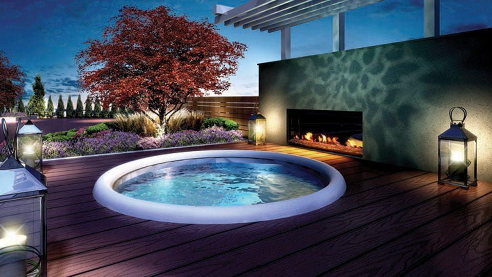 Studio and Studio2 on Richmond Terrace Pool Toronto, Canada