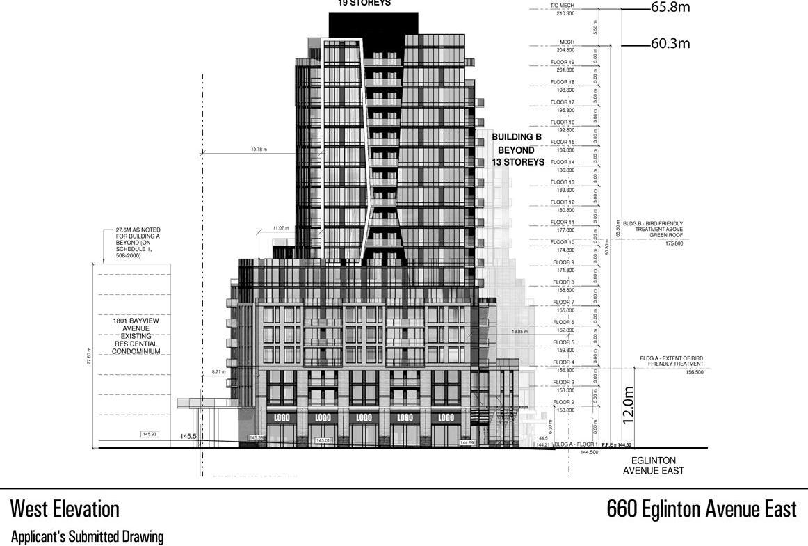 Sunnybrook Plaza Redevelopment Plan View Toronto, Canada