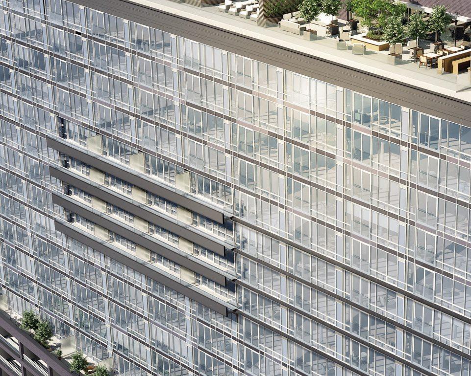 The Modern Condos Close View Toronto, Canada