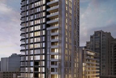 The St. Thomas Condos Building View Toronto, Canada