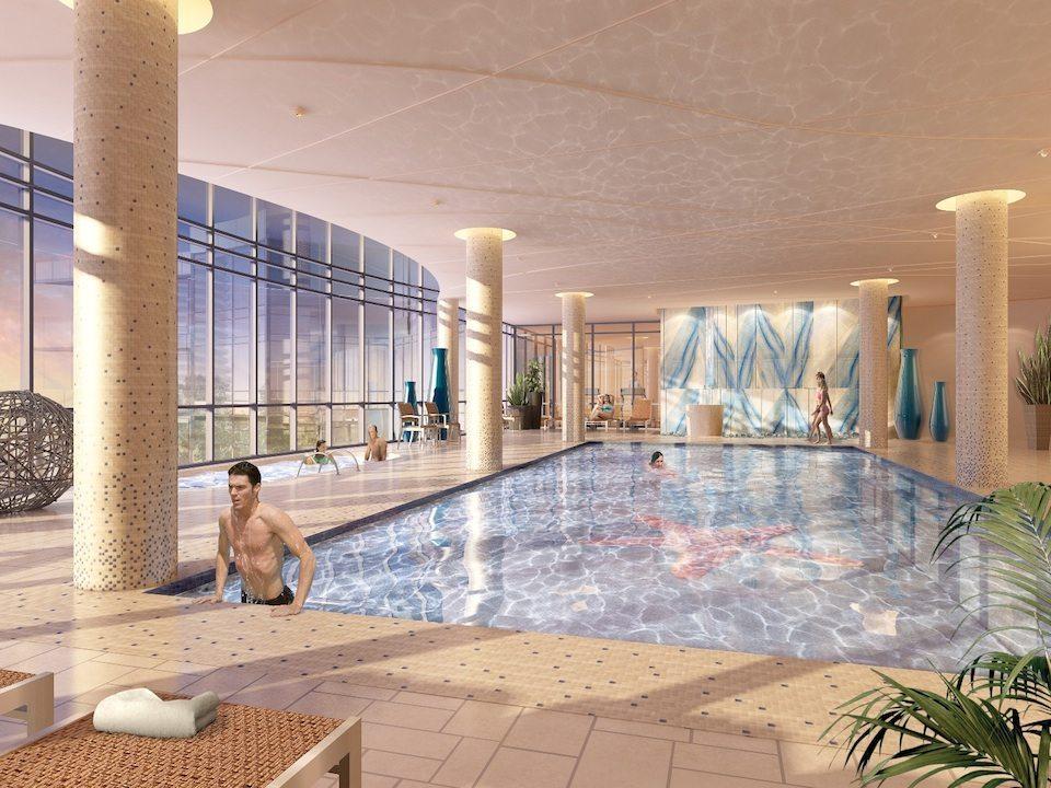 Beyond The Sea Condos Swimming Pool Toronto, Canada