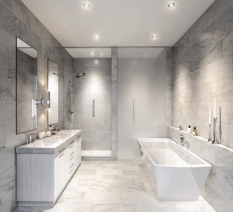 Bianca Condos Bathroom Toronto, Canada