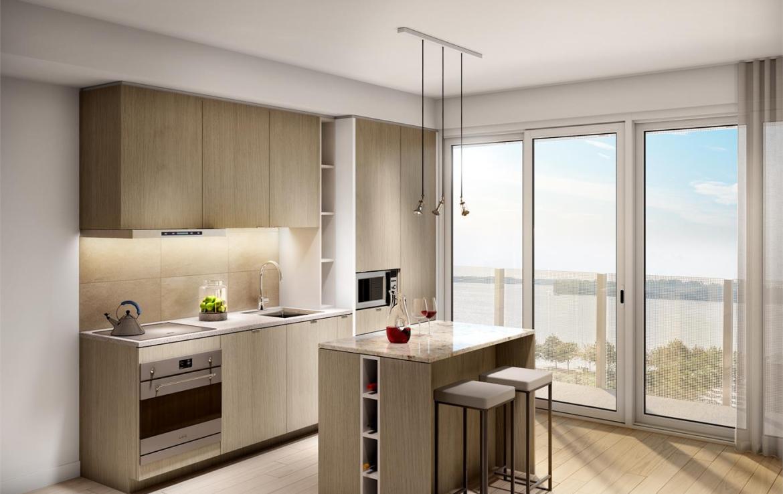 Lakeside Residences Kitchen Toronto, Canada