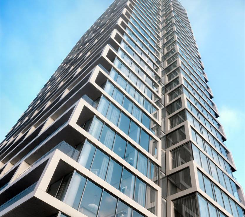 Transit City Condos Building View Toronto, Canada