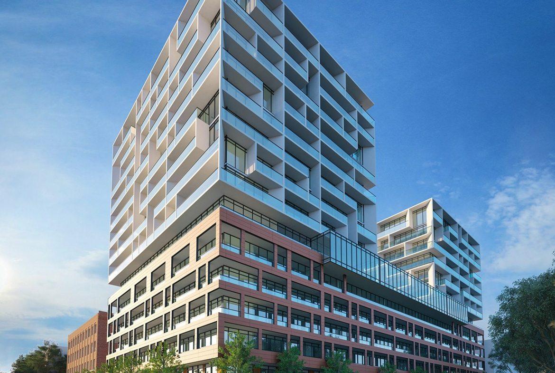 West Condos Building View Toronto, Canada
