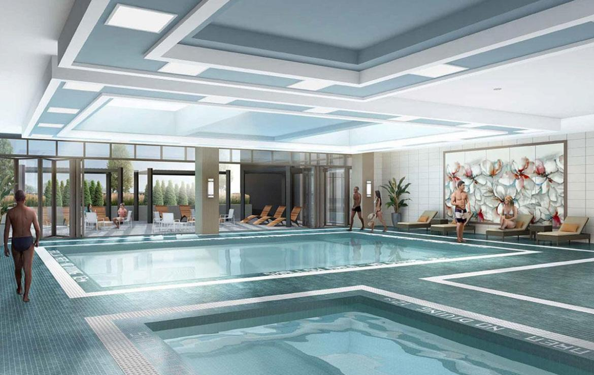 D'or Condos indoor swimming pool